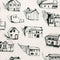 houses, erica wakerly, wallpaper, - adorn.house