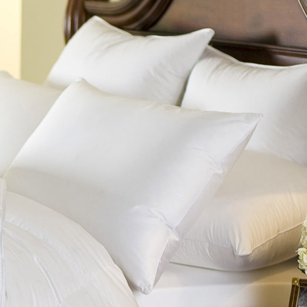 cascada peak 600 fill power white down pillow, downright, insert, - adorn.house