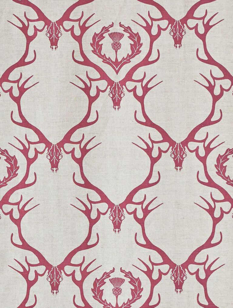 deer damask | fabric and cushions - adorn.house