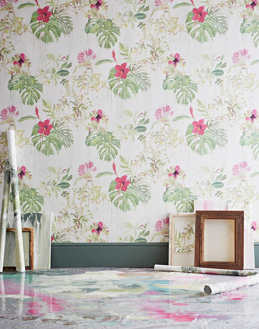 seasons wallpaper, sian zeng, wallpaper, - adorn.house