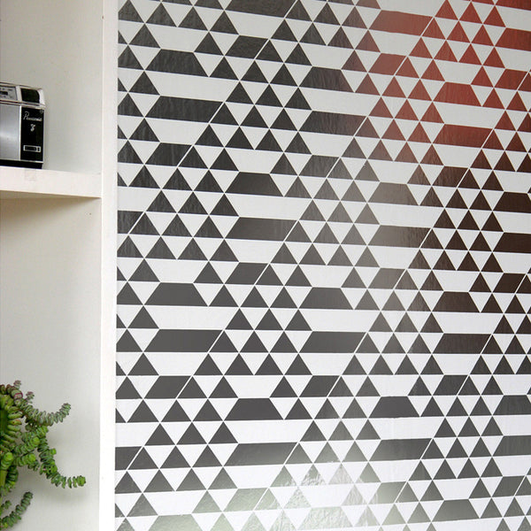 teepee, erica wakerly, wallpaper, - adorn.house