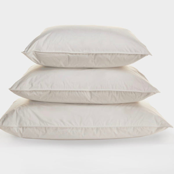 wildwood  800 fill power pillow, ogallala, insert, - adorn.house