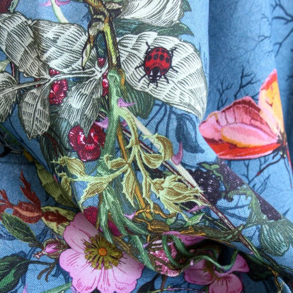 bloomsbury garden fabric, timorous beasties, fabric, - adorn.house