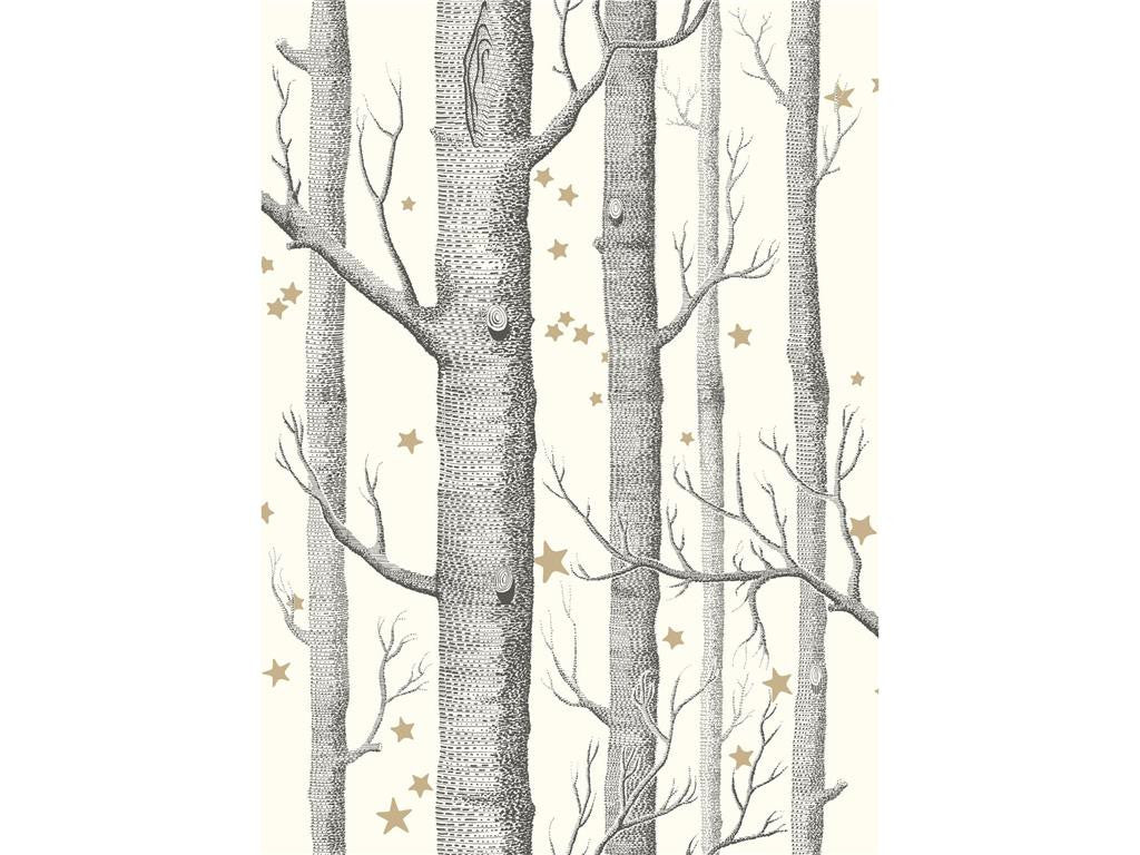 woods and stars, cole and son, wallpaper, - adorn.house