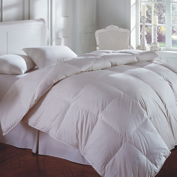 cascada peak 600 fill white down comforter, downright, insert, - adorn.house