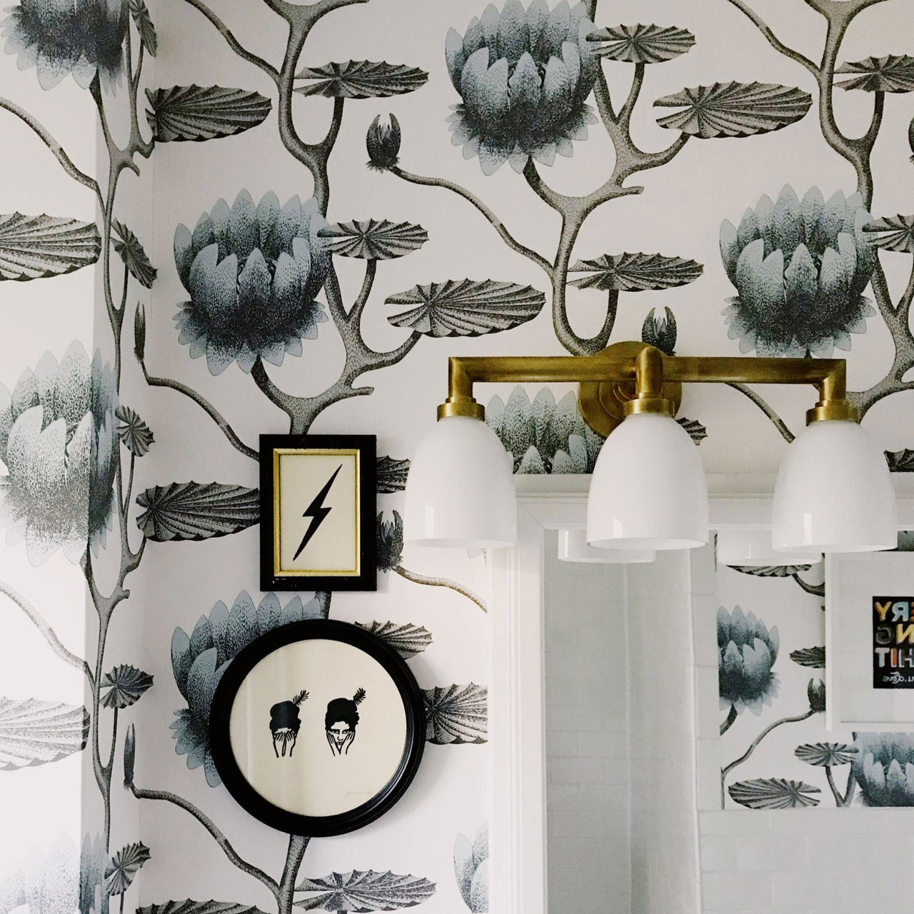 Summer Lily - The contemporary collection, cole and son, wallpaper, - adorn.house