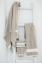simi guest towel, libeco, bath towel, - adorn.house