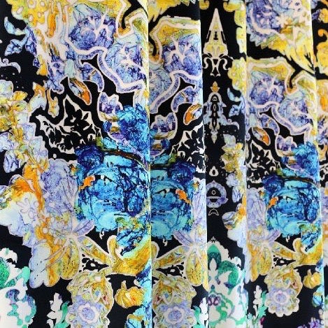 damsel damask | velvet fabric, timorous beasties, fabric, - adorn.house