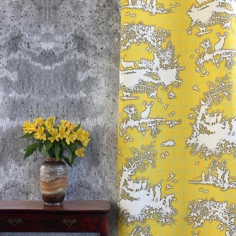 classic hunt | fabric, timorous beasties, fabric, - adorn.house