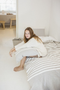 camille throw, libeco, blanket | throw, - adorn.house