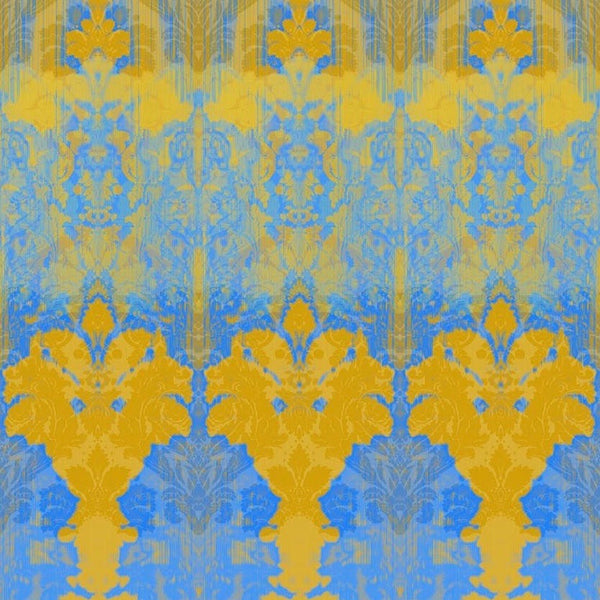 ikat damask wallpaper panel, timorous beasties, wallpaper, - adorn.house