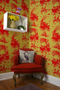 hunting toile wallpaper, timorous beasties, wallpaper, - adorn.house