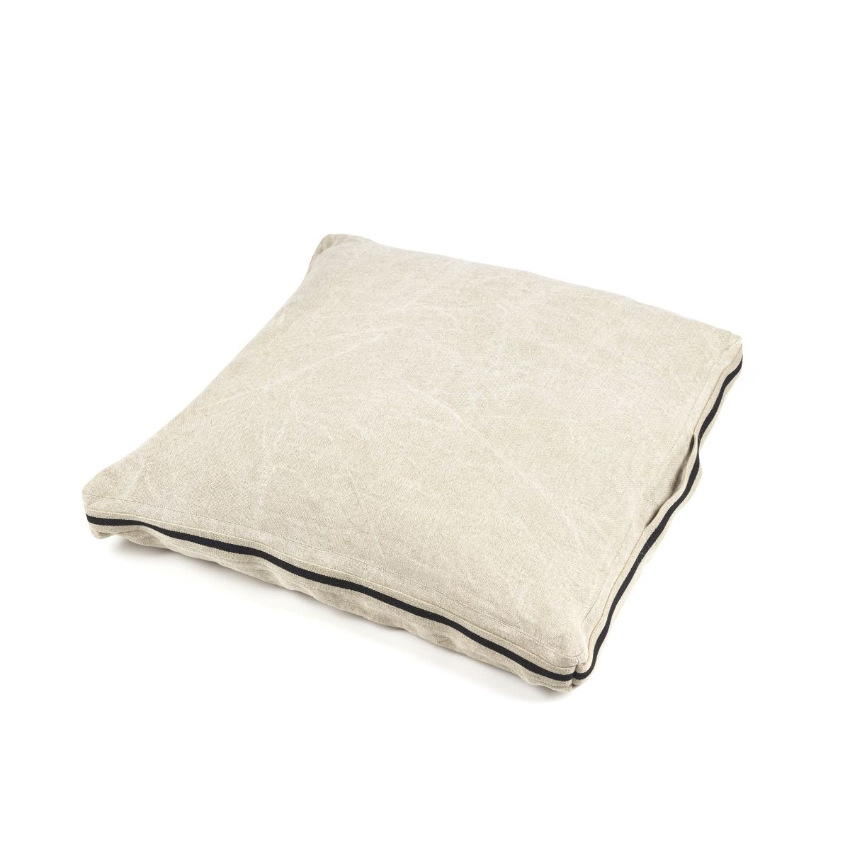 james floor cushion, libeco, accessories | pillows and cushions, - adorn.house