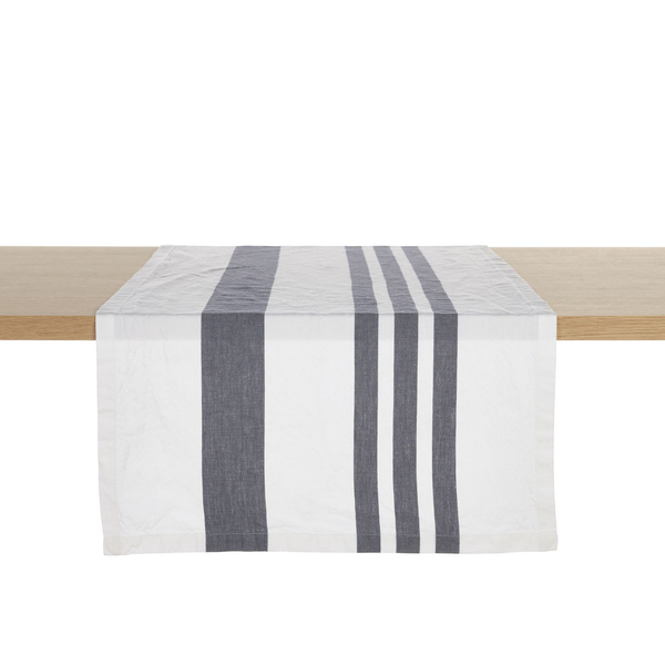 falls gap tablerunner, libeco, table linen, - adorn.house
