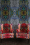 kaleido block superwide wallpaper panels, timorous beasties, wallpaper, - adorn.house