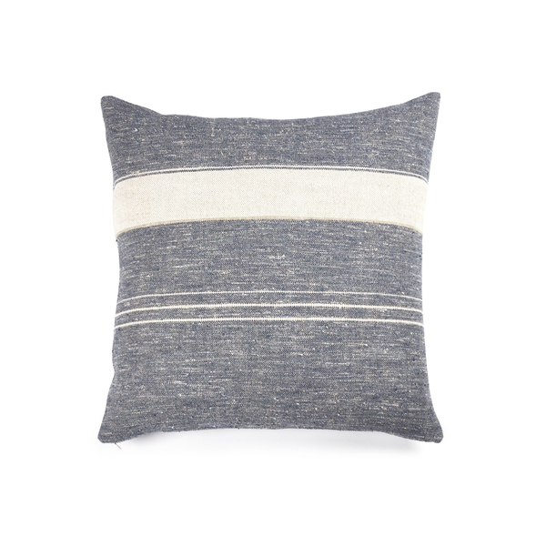 north sea stripe pillow cover, libeco, accessories | pillows and cushions, - adorn.house