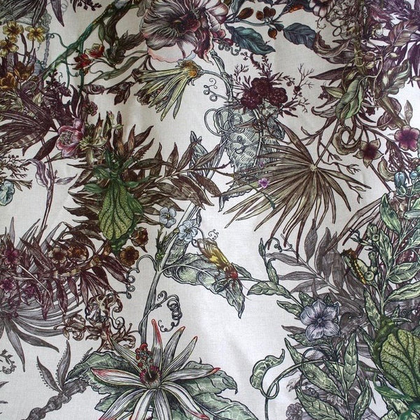 opera botanica fabric, timorous beasties, fabric, - adorn.house