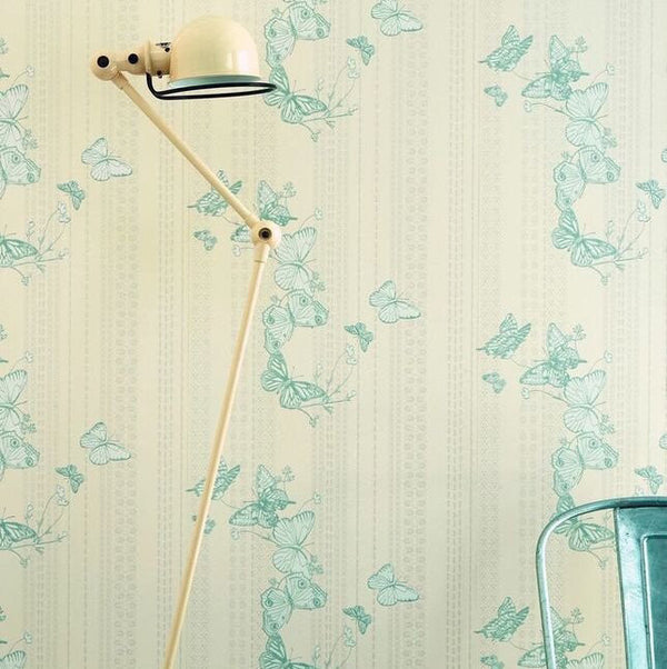 bugs & butterflies, Barneby Gates, wallpaper, - adorn.house