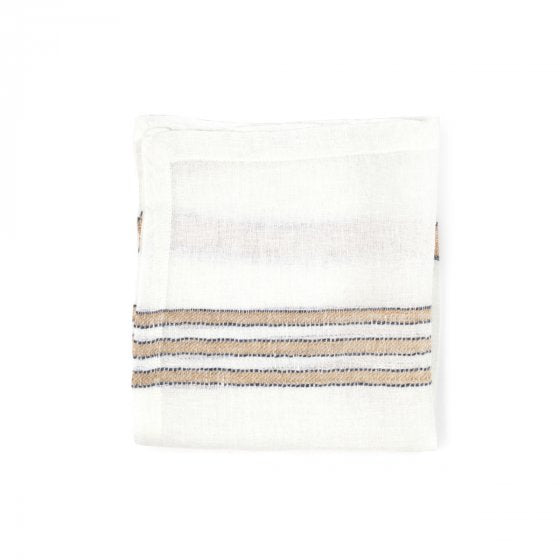 west hinder- wheat stripe napkins