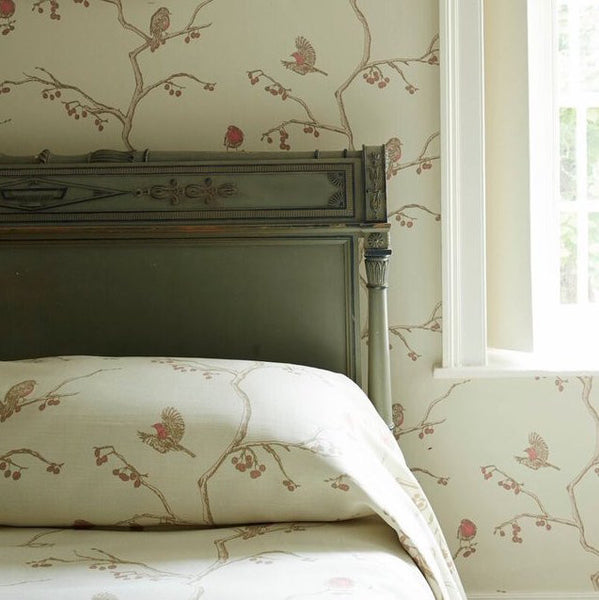 english robin | fabric - adorn.house