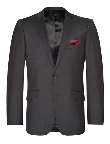 SALE $195-Joe 8000 Suit - Anthracite -Pure Wool