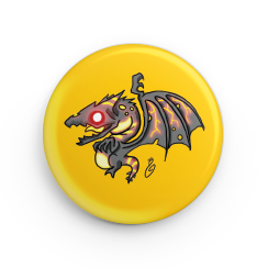 "1.25"" Fireblood Hatchling Button"