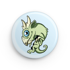 "1.25"" Sky Serpent Hatchling Button"