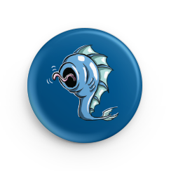 "1.25"" Leviathan Hatchling Button"