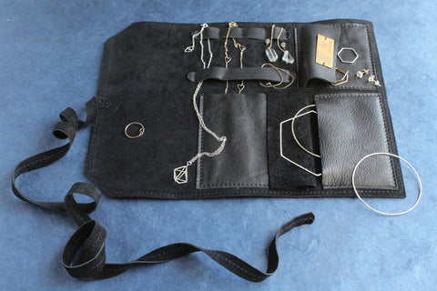 EBJ and Awl Snap Jewelry Travel Case