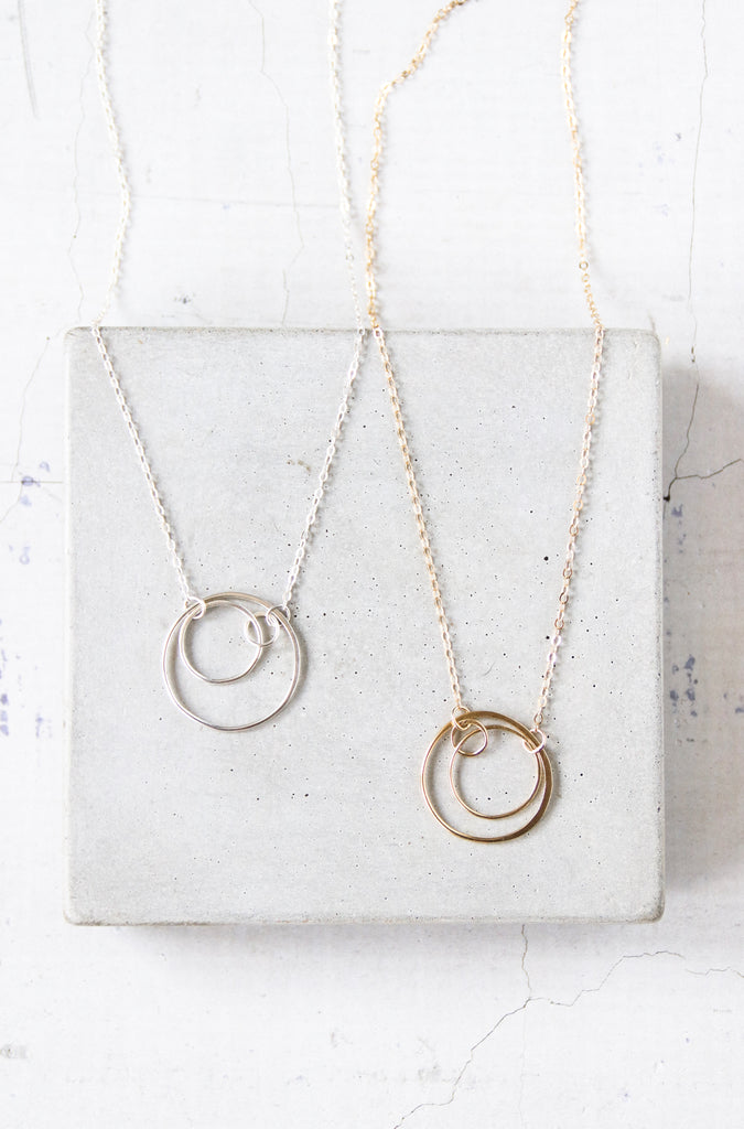 Small Concentric Necklace