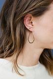 Pagoda Hoop Earrings