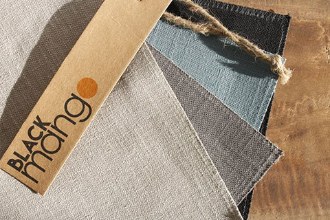 Black Mango Fabric Swatches