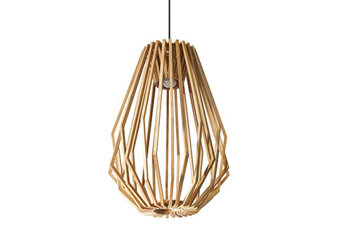Tall Geo Pendant Light