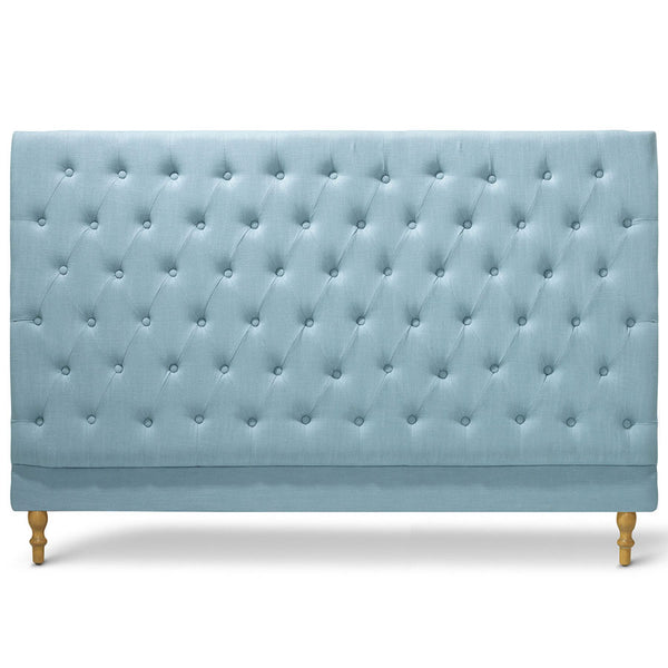 Charlotte Chesterfield Bedhead King Size Teal