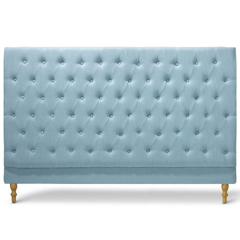 Charlotte Chesterfield Bedhead King Size Teal - Black Mango