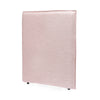 Juno Bedhead with Slipcover King Single Size Dusty Pink - Black Mango