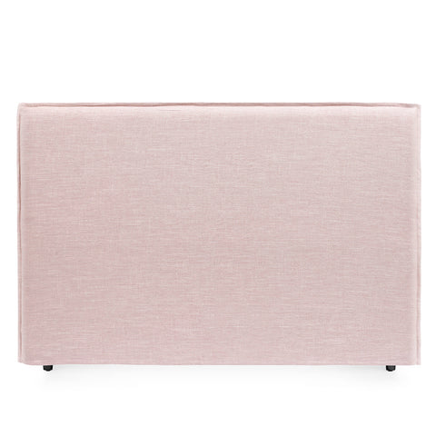 Juno Bedhead with Slipcover King Size Dusty Pink - Black Mango