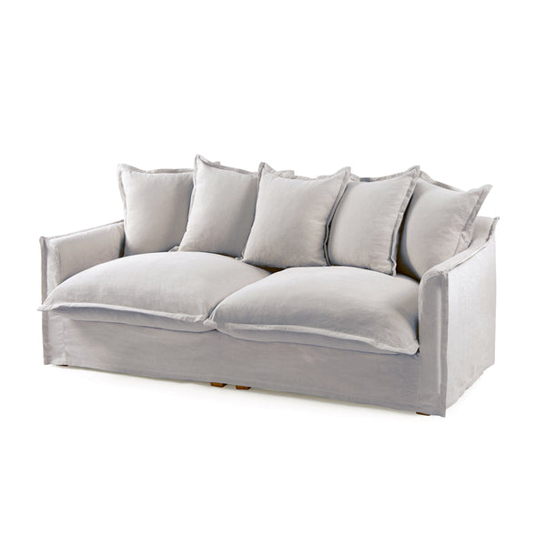 The Cloud 3 Seater Sofa with Cloudy Grey Slipcover