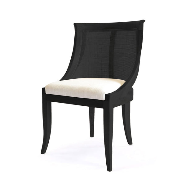 Madrid Side Chair Black