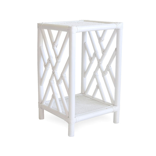 Chippendale Side Table White
