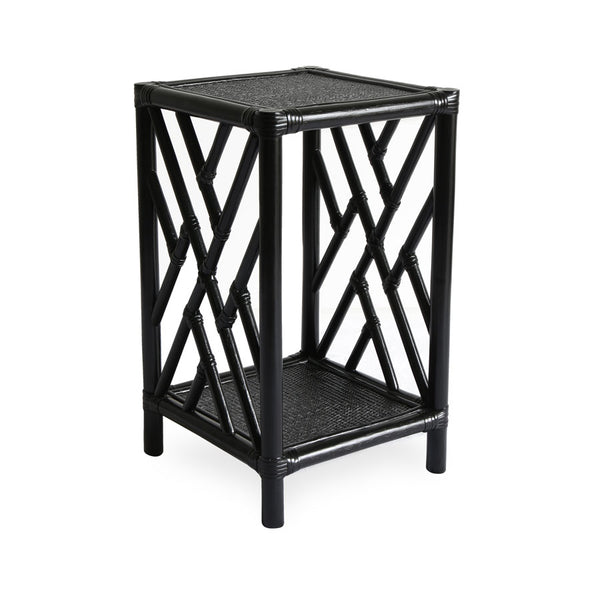 Chippendale Side Table Black