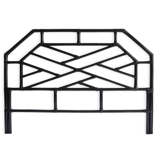 Chippendale Bedhead King Size Black