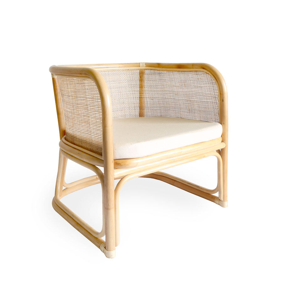 Lennox Rattan Club Chair