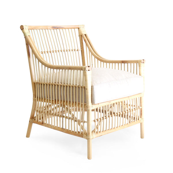 Sorrento Rattan Lounge Chair Natural