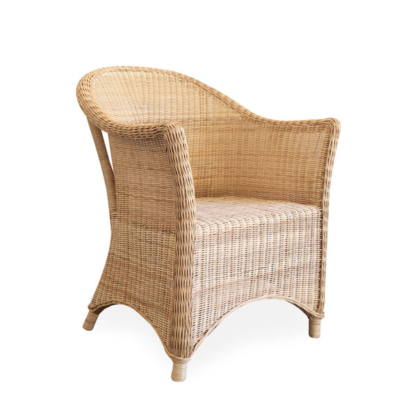 Madison Rattan Arm Chair Natural