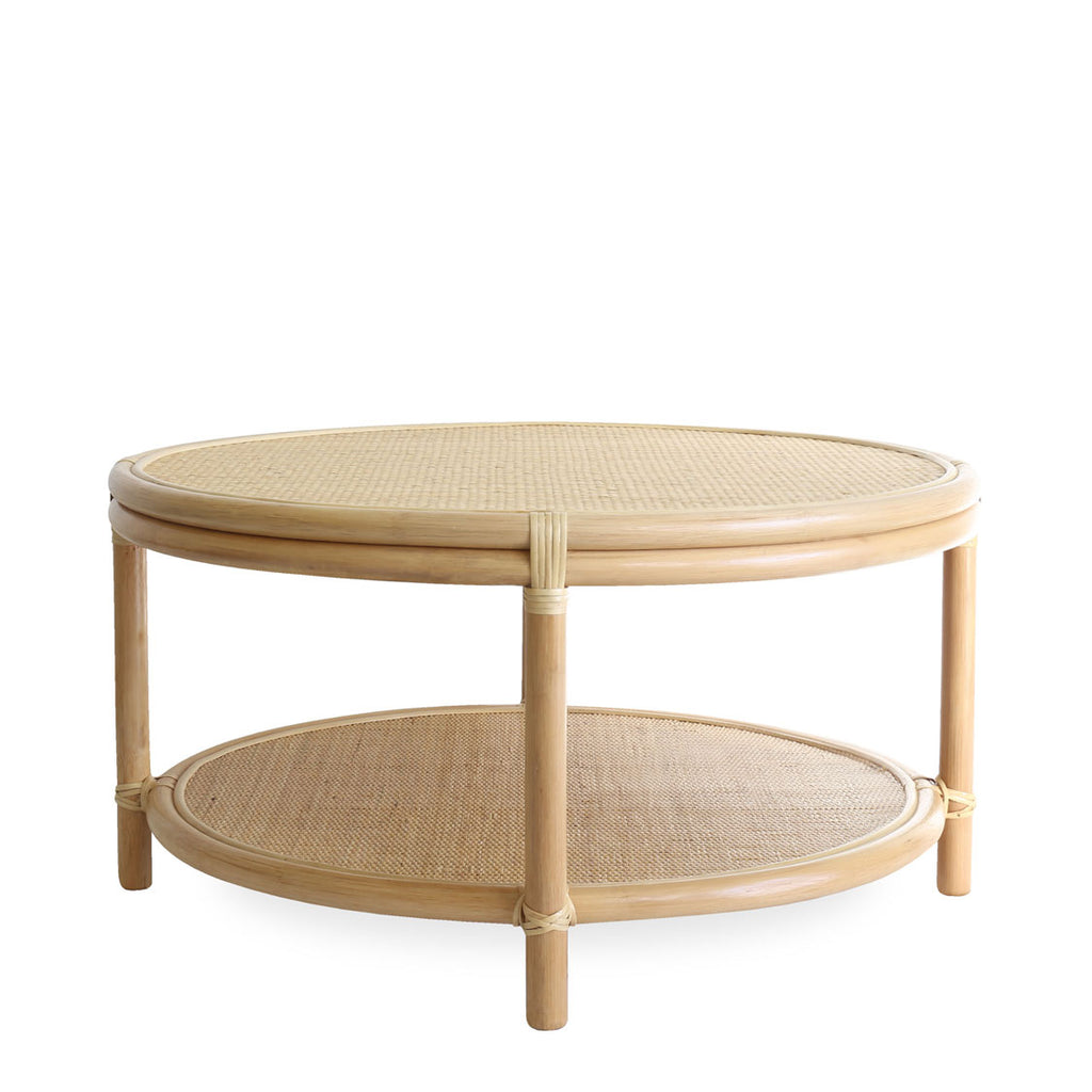 Havana Round Rattan Coffee Table Small