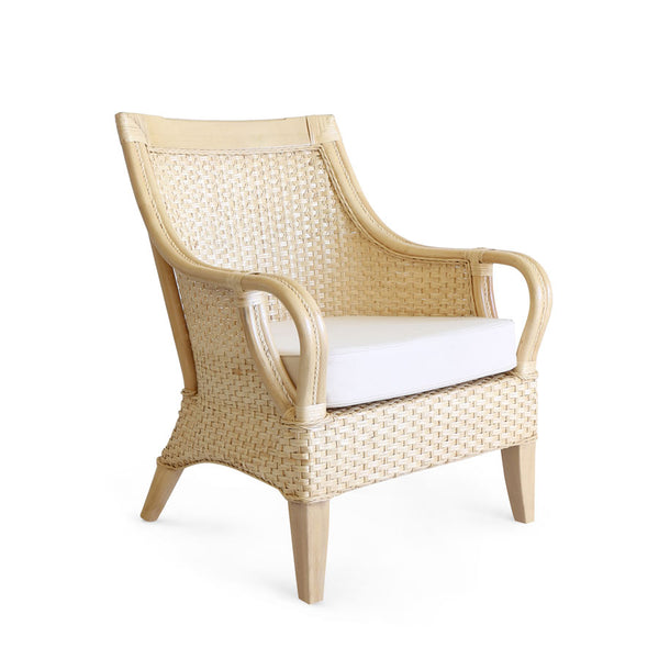 Tamia Rattan Lounge Chair Natural