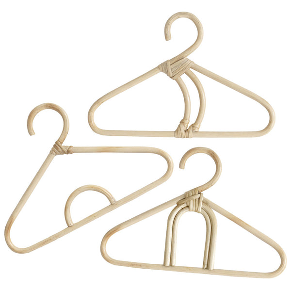 Rattan Hanger Childrens | Set of 3