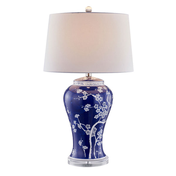 Mia Blue Oriental Ceramic Table Lamp