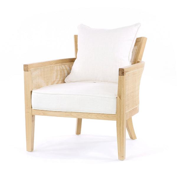 Hampton Club Chair - Black Mango